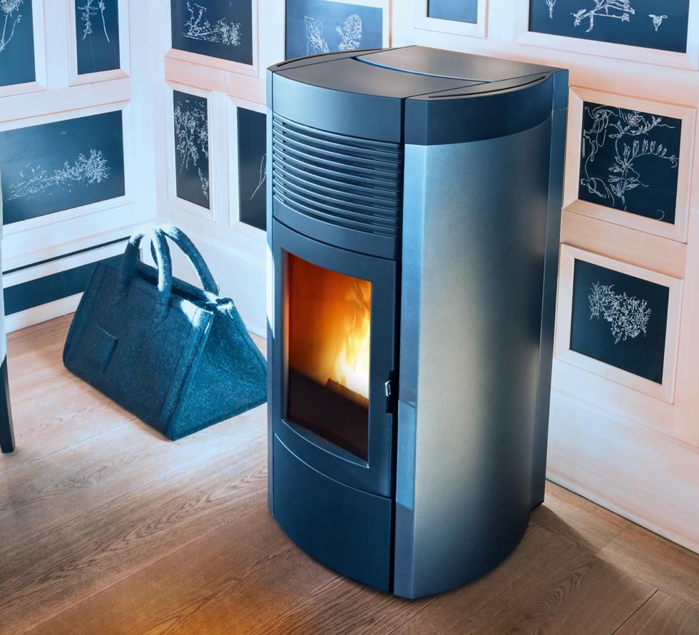 mcz pelletofen musa 2 0 comfort air 12 1 kw mit activesystem mazide mcz pellet fen. Black Bedroom Furniture Sets. Home Design Ideas