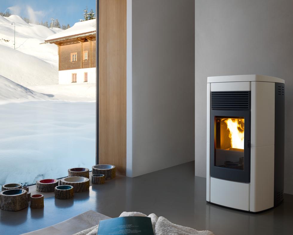 MCZ Pelletofen Star 2.0 Comfort Air 10 KW (bis 3 Räume)